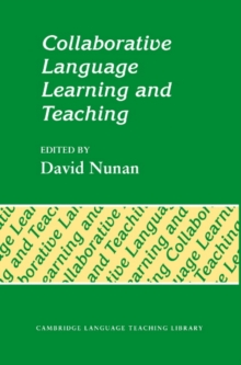 Cambridge Language Teaching Library : Collaborative Language Learning and Teaching, Paperback / softback Book