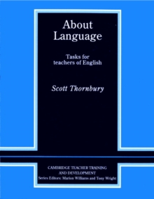 About Language : Tasks for Teachers of English, Paperback Book