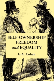Self-Ownership, Freedom, and Equality, Paperback Book