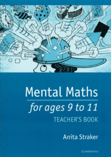 Mental Maths for Ages 9 to 11 Teacher's Book, Copymasters Book