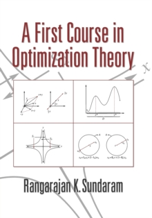 A First Course in Optimization Theory, Paperback Book