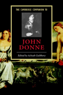 The Cambridge Companion to John Donne, Paperback Book