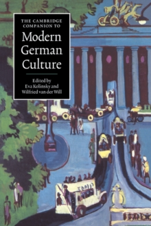 The Cambridge Companion to Modern German Culture, Paperback Book