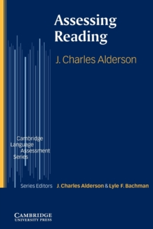 Assessing Reading, Paperback Book