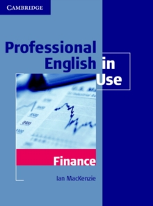 Professional English in Use Finance, Paperback Book