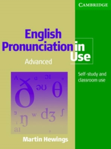 English Pronunciation in Use Advanced Book with Answers, Paperback Book