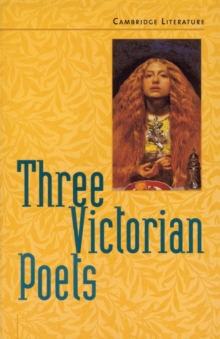 Three Victorian Poets, Paperback Book