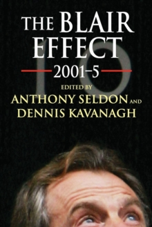 The Blair Effect 2001-5, Paperback Book