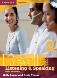 Cambridge English Skills Real Listening and Speaking 2 with Answers and Audio CD, Mixed media product Book