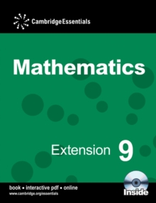Cambridge Essentials Mathematics Extension 9 Pupil's Book with CD-ROM, Mixed media product Book