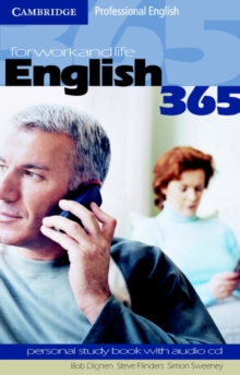English365 1 Personal Study Book with Audio CD : For Work and Life, Mixed media product Book