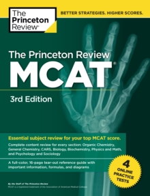 Princeton Review MCAT, Volume 1 : Content Review and Instruction