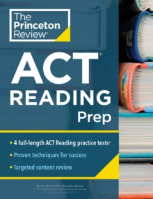 Princeton Review ACT Reading Prep, Paperback / softback Book
