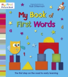 My Book of First Words, Paperback Book