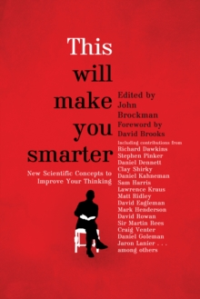 This Will Make You Smarter, Paperback Book