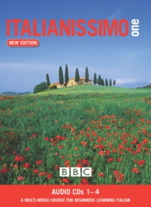 ITALIANISSIMO BEGINNERS' (NEW EDITION) CD's 1-4, CD-Audio Book
