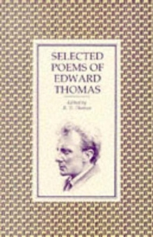 Selected Poems of Edward Thomas, Paperback Book