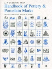 Handbook of Pottery and Porcelain Marks : The Definitive Fifth Edition, Hardback Book