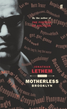 Motherless Brooklyn, Paperback Book