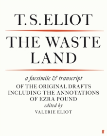 The Waste Land Facsimile, Paperback Book