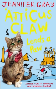 Atticus Claw Lends a Paw, Paperback Book