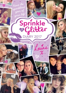 Sprinkle of Glitter Diary 2017, Hardback Book