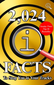 2,024 QI Facts To Stop You In Your Tracks, Hardback Book