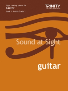 SOUND AT SIGHT GUITAR INITIALGRADE 3,  Book