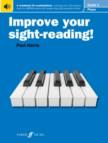 Improve your sight-reading! Piano Grade 1, Paperback / softback Book