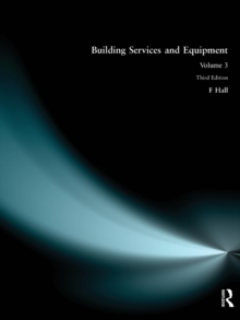 Building Services and Equipment, Paperback Book