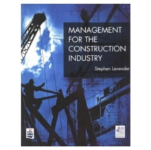 Management for the Construction Industry, Paperback Book