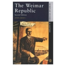The Weimar Republic, Paperback Book