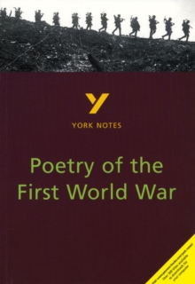 Poetry of the First World War: York Notes for GCSE, Paperback Book