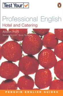 Test Your Professional English NE Hotel and Catering, Paperback Book