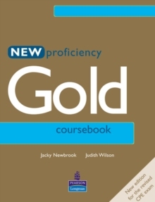 New Proficiency Gold Course Book, Paperback Book