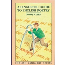 A Linguistic Guide to English Poetry, Paperback / softback Book