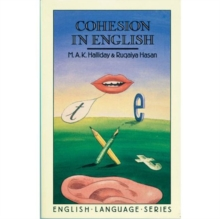 Cohesion in English, Paperback Book