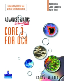 A Level Maths Essentials Core 3 for OCR Book and CD-ROM,  Book