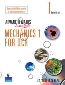 A Level Maths Essentials Mechanics 1 for OCR Book and CD-ROM, Mixed media product Book