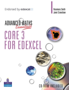 A Level Maths Essentials Core 3 for Edexcel Book and CD-ROM, Mixed media product Book