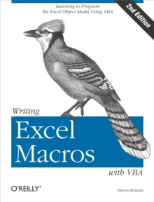 Writing Excel Macros with VBA, Paperback Book