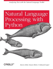 Natural Language Processing with Python, Paperback Book