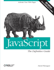 JavaScript: The Definitive Guide, Paperback Book