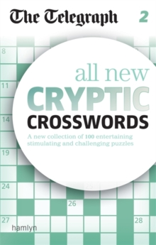 The Telegraph: All New Cryptic Crosswords 2, Paperback Book