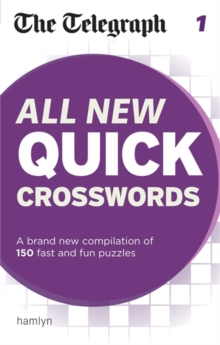 The Telegraph: All New Quick Crosswords 1, Paperback Book