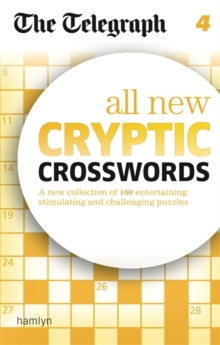 The Telegraph: All New Cryptic Crosswords 4, Paperback Book