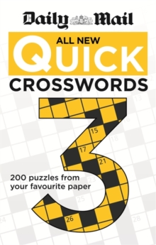 Daily Mail: All New Quick Crosswords 3, Paperback Book