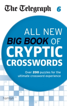 The Telegraph: All New Big Book of Cryptic Crosswords 6, Paperback / softback Book