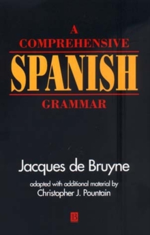 A Comprehensive Spanish Grammar, Paperback Book