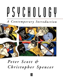Psychology : A Contemporary Introduction, Paperback Book